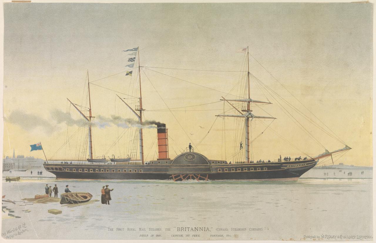 Afbeeldingsresultaat voor Cunard Britannia