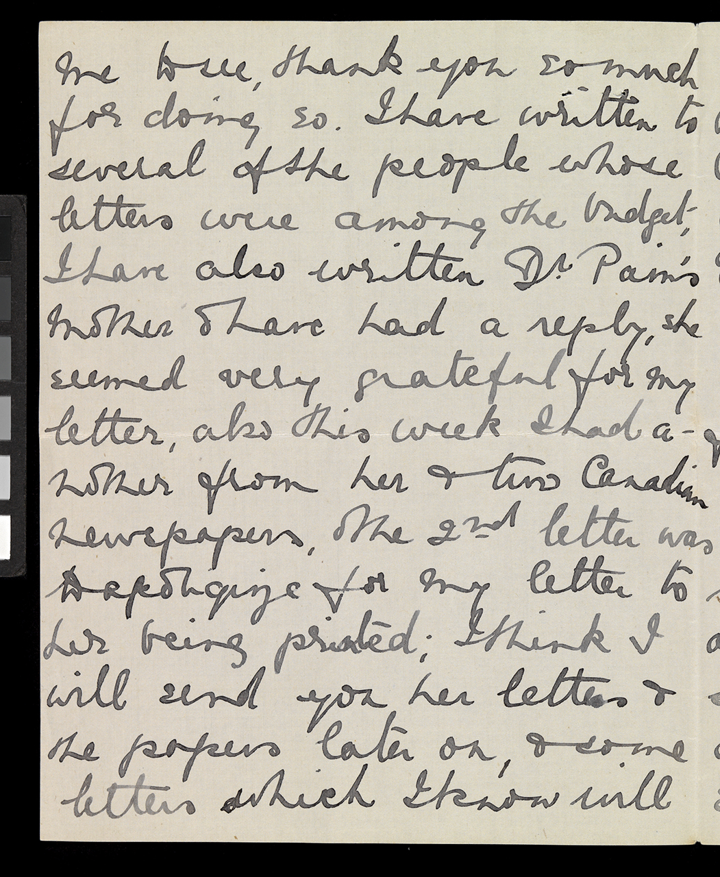 Letter to her father, Cottage Grove, Oregon, 19 Jun 1912, on
