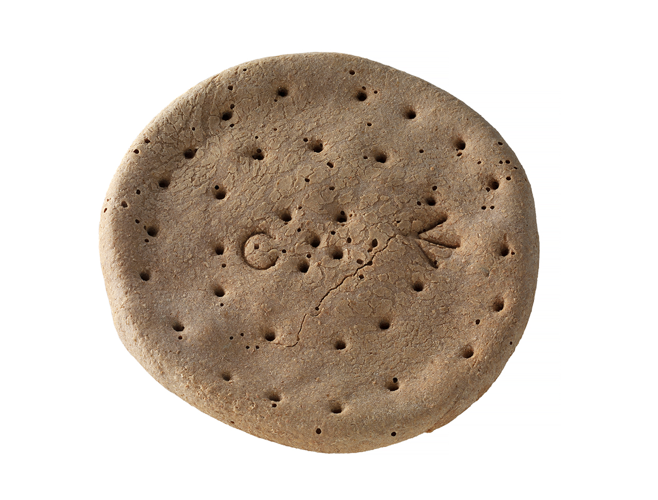 An image showing 'AAB0765; Ship's biscuit'