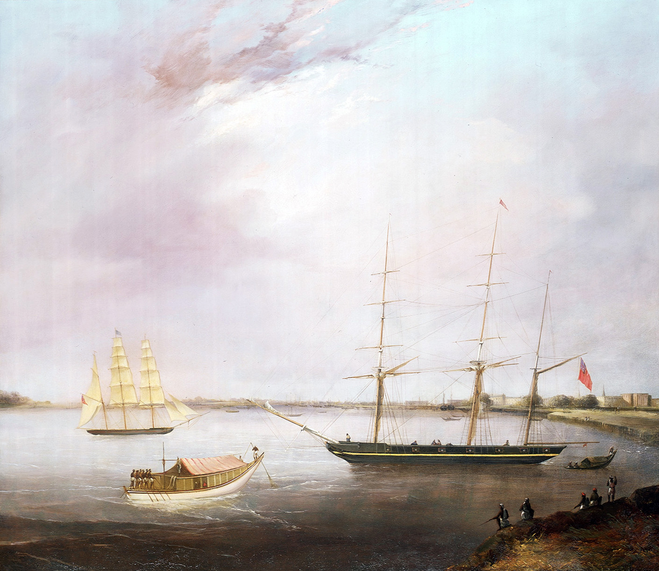 the streatham and the opium clipper red rover national