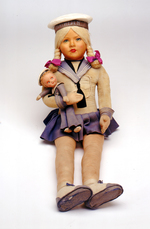 Female sailor doll