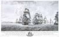 Lord Nelson landing at Leghorn on his return to England after the capture of Malta 5th Sep 1800
