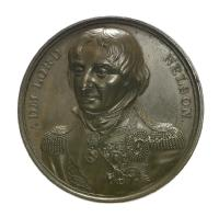 Medal commemorating Vice-Admiral Horatio Nelson (1758-1805) and the Duke of Wellington