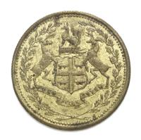 Hudson Bay Company trading token - one Made Beaver