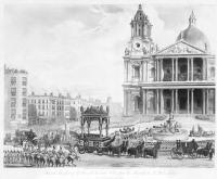 Funeral Procession of the late Lord Viscount Nelson, from the Admiralty to St Paul's, London, 9th January 1806