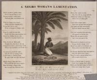 'A Negro Woman's Lamentation'