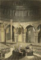 The Ceremony of Lord Nelson's Interment, in St Paul's Cathedral, Jany 9th 1806
