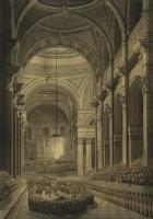 The Funeral Ceremony of Lord Nelson, in St Paul's Cathedral, 9th of Jany 1806