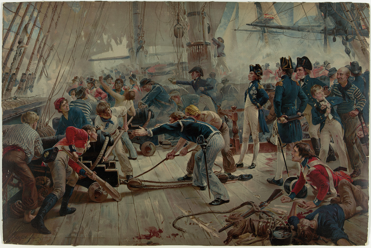 The Hero of Trafalgar, 21 October 1805