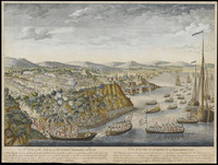 'A View of the Taking of Quebec September 13th 1759'