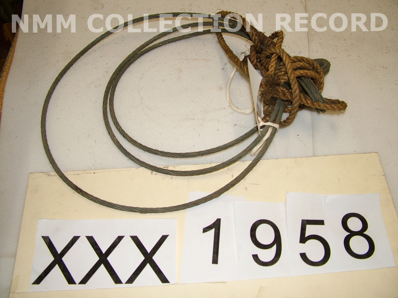 Rope and wire, Rope and wire