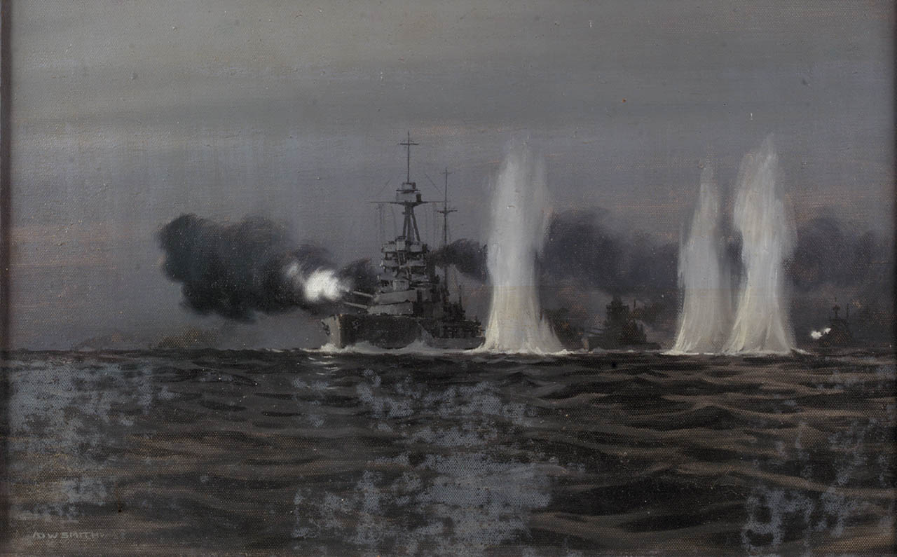 battle of jutland The battle of jutland (31 may–1 june 1916), fought between britain's grand fleet and imperial germany's high seas fleet, was the largest naval battle of world war i, and one of the largest in recorded history, involving around.