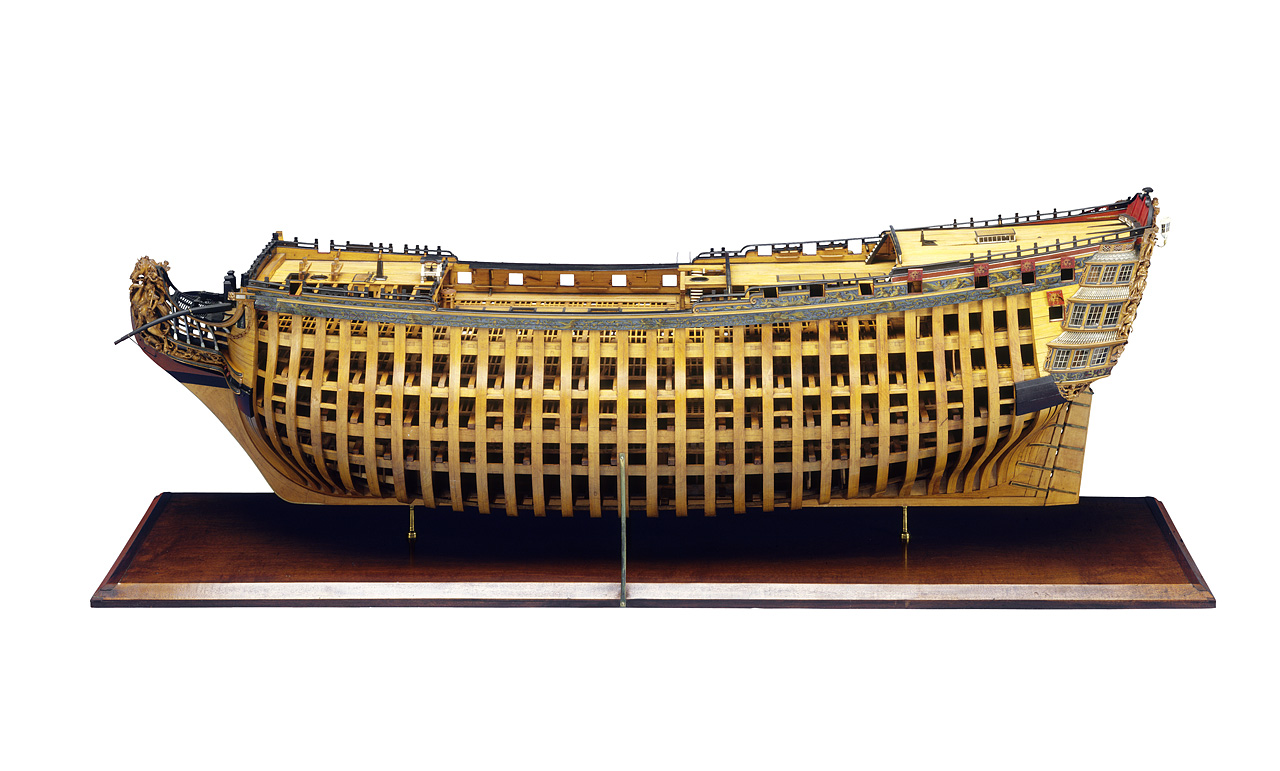 An image showing ''Royal George', port broadside'